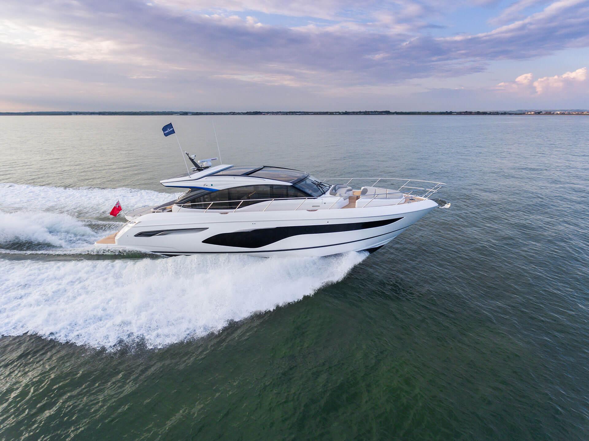 Princess V60 #63 (2020) | Princess Yachts Sweden Denmark Norway